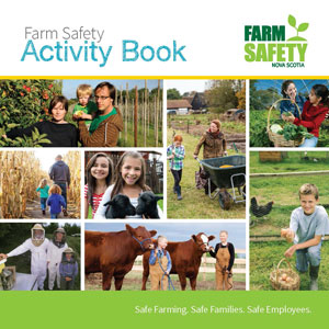 Farm Safety Activity Booklet Cover Image